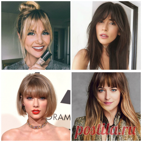 Hairstyles with bangs 2019: Top updo ideas with different types of bangs