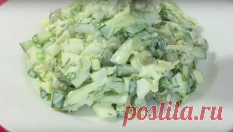 Салат «Весенний»: минимум продуктов, максиму вкуса