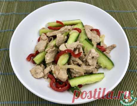 Огурцы с мясом по-корейски – кулинарный рецепт
