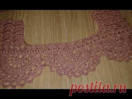 Топ - блуза. Вязание + ткань. Часть 3.