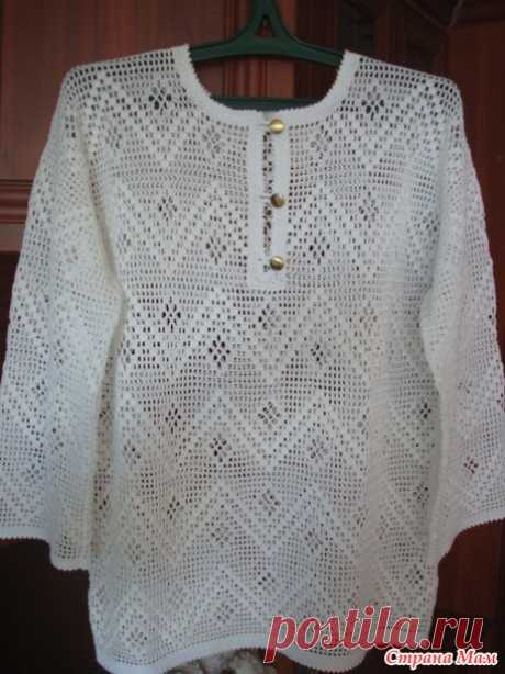 Fillet shirt from angelka-belka (the Country of Mothers)