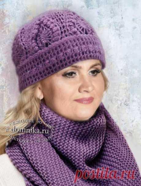 Шапки для пожилых женщин старше 60 лет - вязаные шапки для старшего возраста