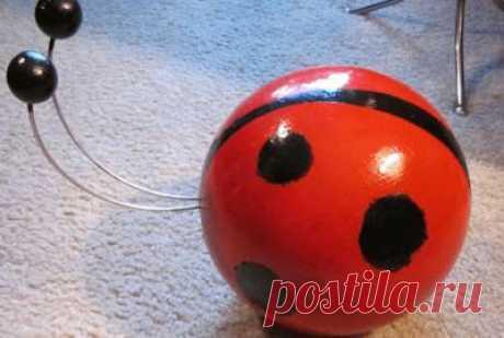 Поделки для сада: как сделать шар для украшения участка - каталог статей на сайте - ДомСтрой