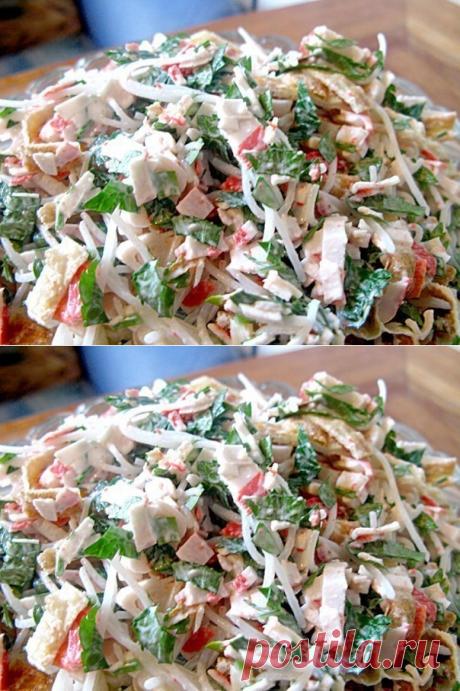 Как приготовить салат «лакомка»  - рецепт, ингридиенты и фотографии