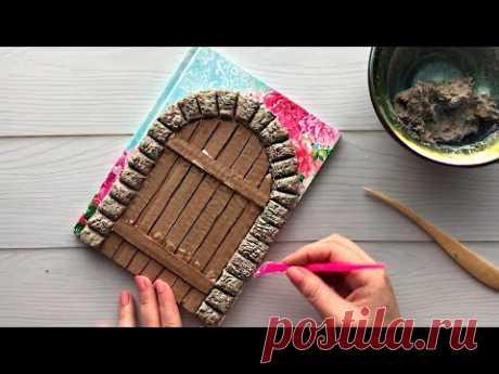 Декор блокнота своими руками | Папье-маше