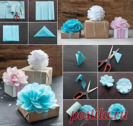 Красивые идеи подарочной упаковки