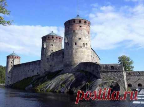 Русские в гостях у финнов. Крепость Олавинлинна (16 фото) . Тут забавно !!!