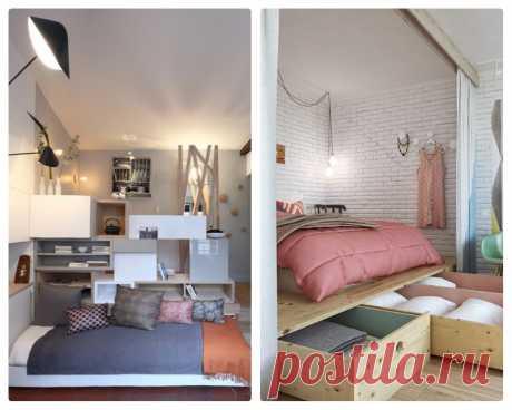 Что я выбрала в однушку — диван или кровать. Сравнение вариантов - Квартира, дом, дача - медиаплатформа МирТесен