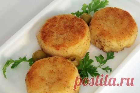 Картофельные котлеты с луком