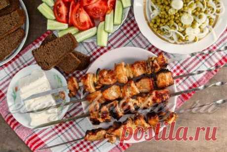 Шашлык из свинины на коньяке: рецепт с фото