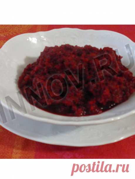 Рецепты для диабетиков: Икра из красной свеклы