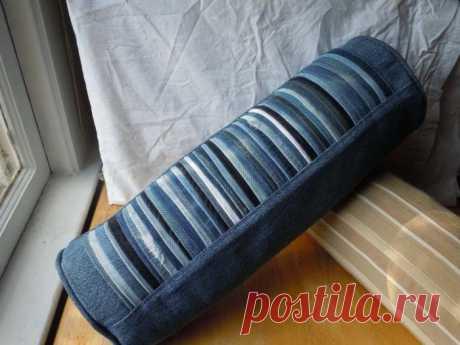 12 способов переделать старые джинсы в полезные мелочи для дома — Лайфхаки