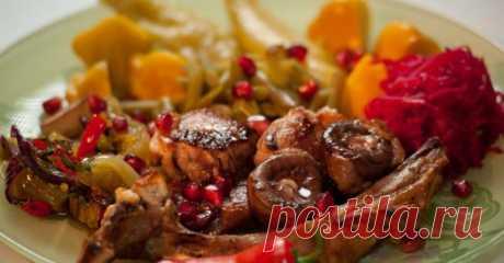Жаркое из баранины с инжиром, тыквой и медом — Кулинарная книга - рецепты с фото