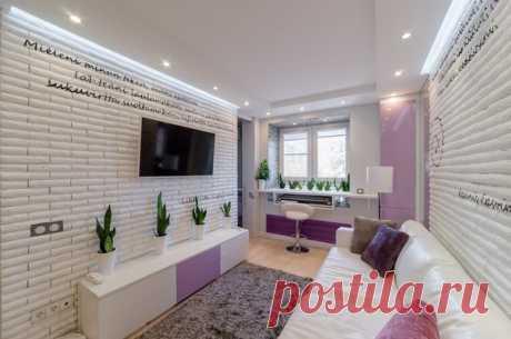 #хит Как обустроить 20-метровую квартиру: советы на реальном примере