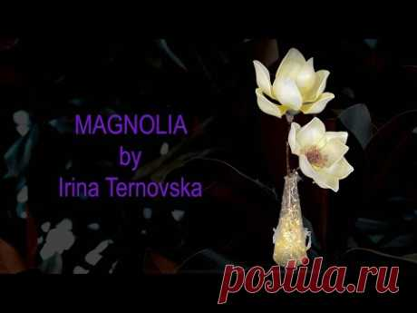DIY magnolia free master class. Бесплатно магнолия