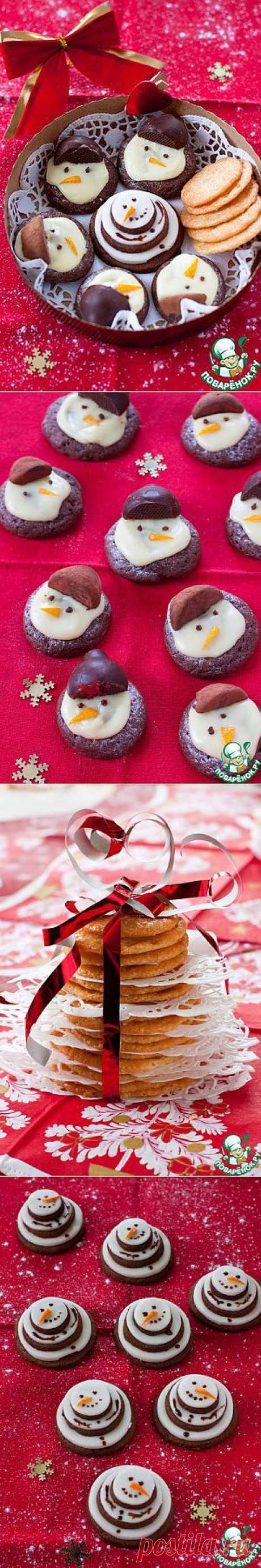 Три идеи для подарка. Новогодняя выпечка - кулинарный рецепт