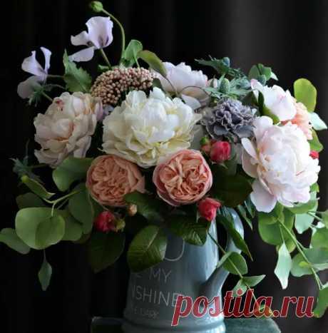Потрясающе реалистичные фарфоровые цветы Олеси Галущенко - Сам себе мастер - медиаплатформа МирТесен