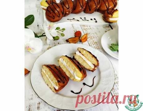 """Пирожные """"Чоко-пай"""" по-домашнему – кулинарный рецепт"""