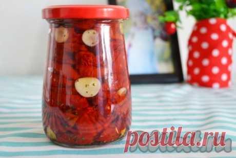 Вяленые помидоры в электросушилке - рецепт с фото