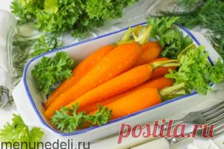 Рецепт карамелизированной моркови
