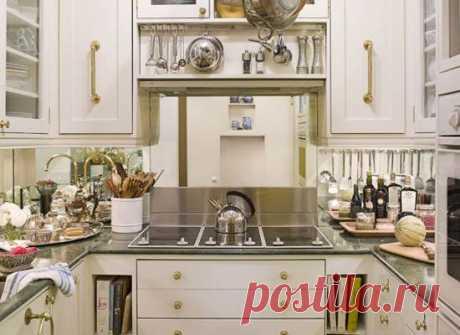 8 хитростей, которые сделают маленькую кухню удобнее | Люблю Себя