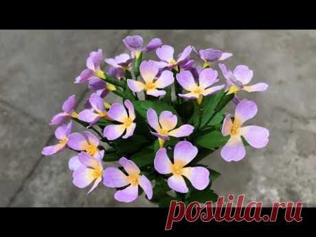 ABC TV | How To Make Aubrieta Paper Flower | Flower Die Cuts - Craft Tutorial