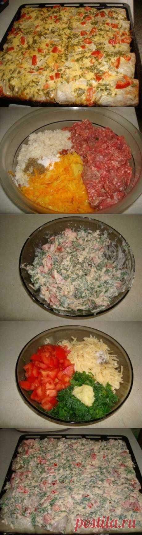 Оригинальный рецепт голубцов. Голубцы под «шубой». | Хитрости Жизни