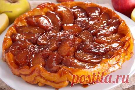 Яблочный пирог Тарт Татен: история и рецепт