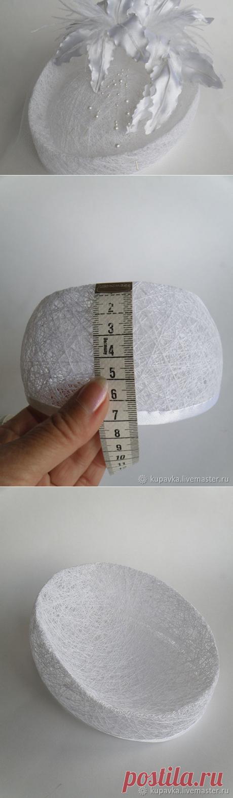 Мастер-класс : Создаем шляпку из ниток   Журнал Ярмарки Мастеров