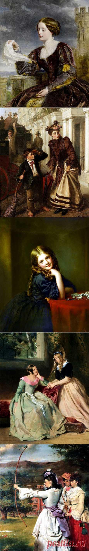 Английский художник Уильям Пауэлл Фрайт (1819-1909)