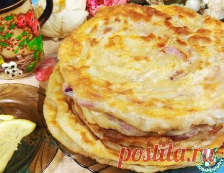 Узбекская лепешка со вкусом чебуреков – кулинарный рецепт