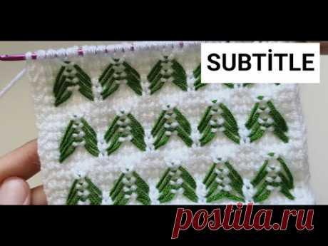 Super Easy Tunisian Crochet - How to tunisian crochet knitting