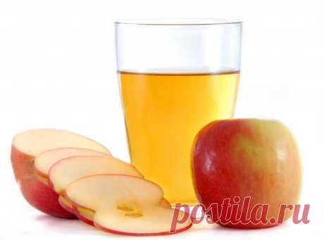 Los bálsamos para los cabellos en base al vinagre de manzana.