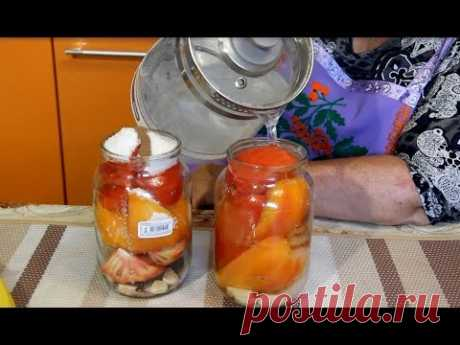 салат из томатов Искушение