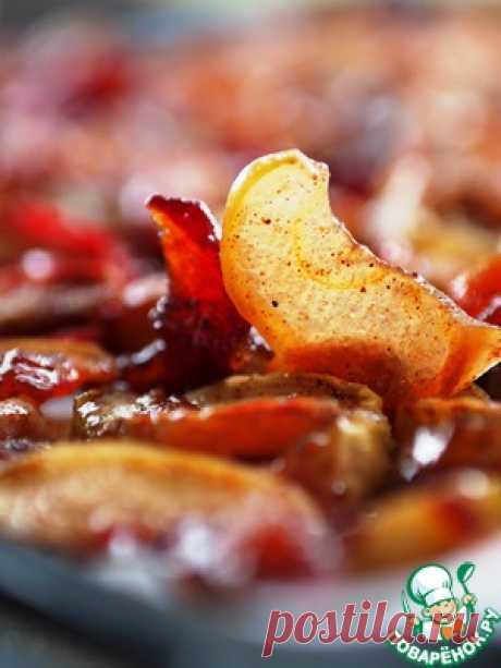 Сухое яблочное варенье - кулинарный рецепт