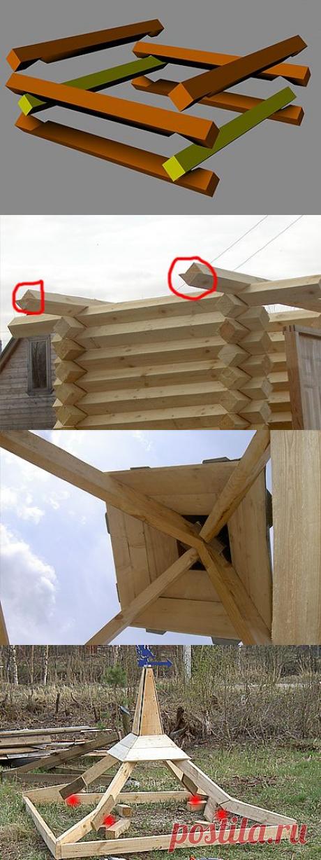 Как сделать креативный деревянный туалет для дачи