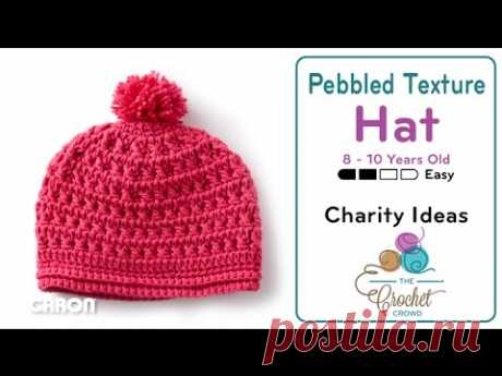 How to Crochet A Hat: Child 8 - 10 Years Old
