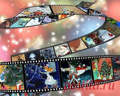 Новогодние и зимние мультфильмы - 55 шт..