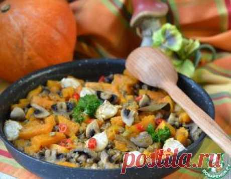 Рагу с тыквой и чечевицей – кулинарный рецепт