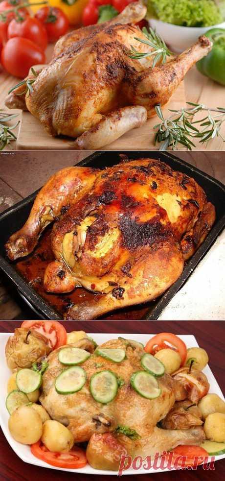 Курица целиком: рецепты приготовления / Простые рецепты