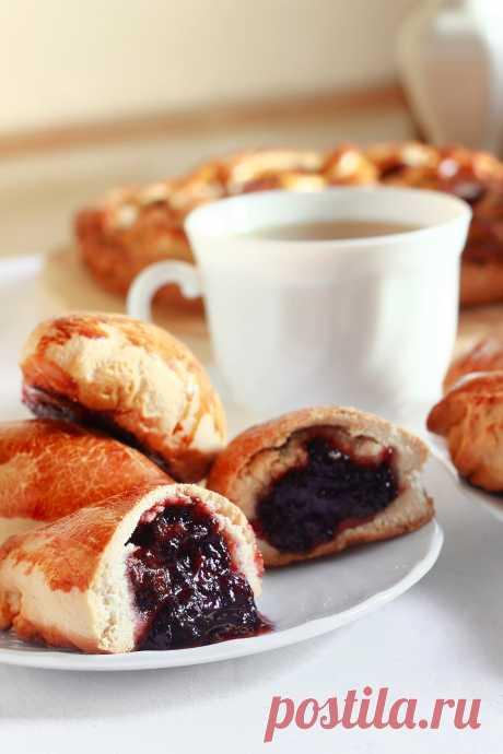 Пирожки бабушкины, пышные, вкусные