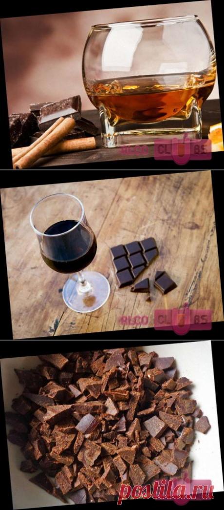 Коньяк с шоколадным вкусом рецепты