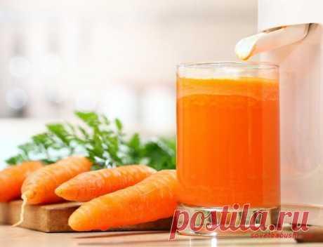 Морковный сок | Советы бабушки