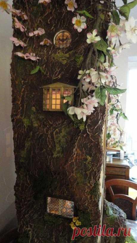 Невероятный домик-миниатюра для маленькой мышки