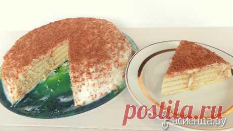 Творожный торт без выпечки из печенья со сгущенкой. Видео рецепт: Дневник пользователя Ольга АЛЕКСАНДРОВНА 2016