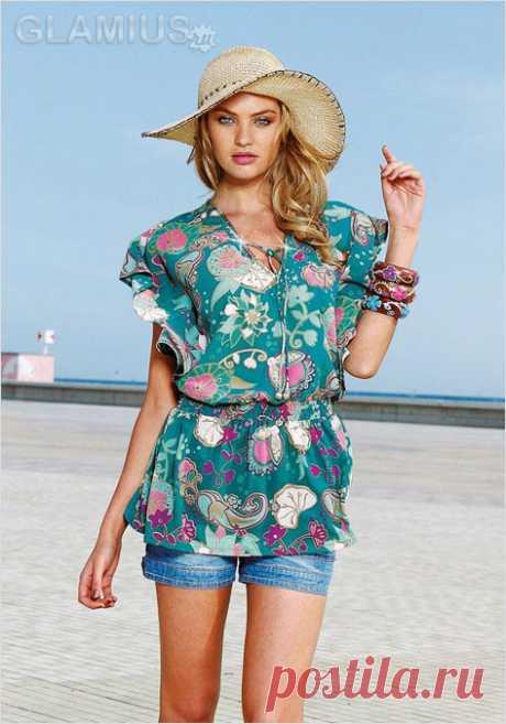Beach tunics of 2013 - fashionable tunics of 2013