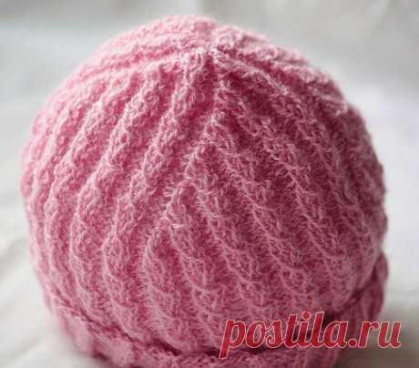 Вязаные зимние шапки | Вязание Шапок Спицами и Крючком | Страница 2