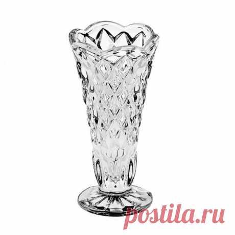 "Хрустальная Ваза ""Diamond"" (Алмаз) 12 см, Crystal Bohemia купить в Москве +7(495)1055156"