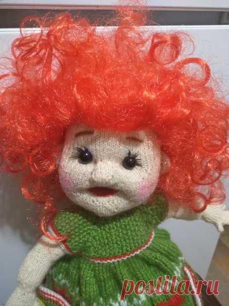 Кукла Клубничка Вязаные игрушки - подарок любимым