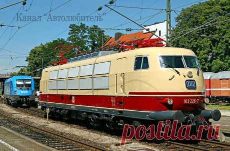 ТОП-9 мощных железнодорожных локомотивов | Автолюбитель | Яндекс Дзен